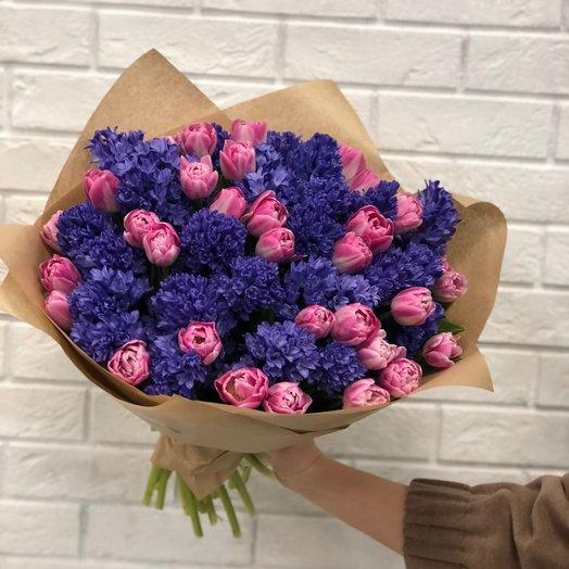 Волшебный гиацинт: букеты цветов на заказ Flowwow