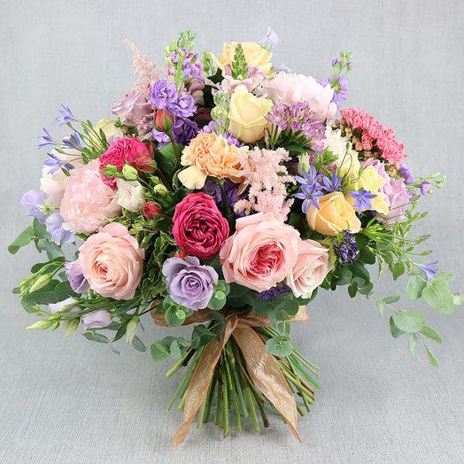 Большой букет Мария Антуанетта: букеты цветов на заказ Flowwow