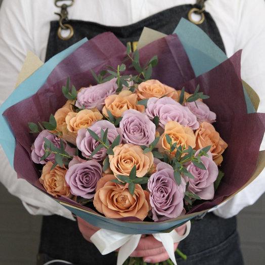 Кофе со сливками: букеты цветов на заказ Flowwow