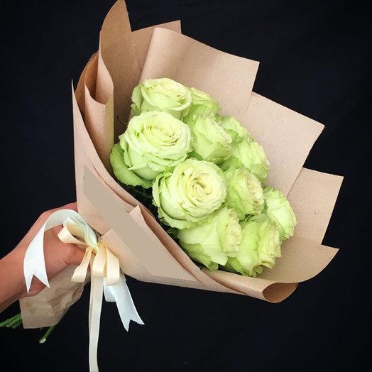 Нежная роза: букеты цветов на заказ Flowwow