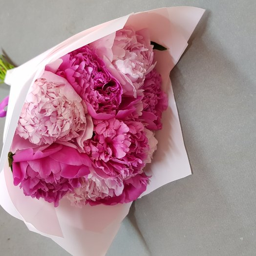 Пионы для любимой: букеты цветов на заказ Flowwow
