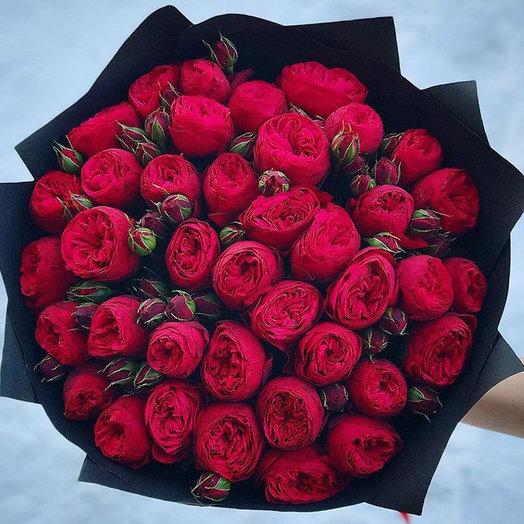 Роскошные пионовидные розы ! : букеты цветов на заказ Flowwow