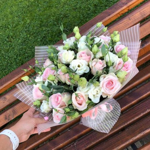 Нежный букет чувств: букеты цветов на заказ Flowwow