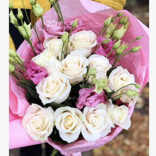 Букет «Пломбир»: букеты цветов на заказ Flowwow