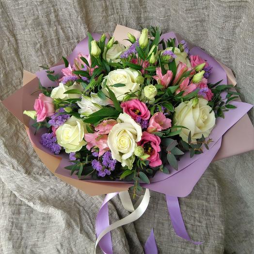 Цветочный микс 1: букеты цветов на заказ Flowwow