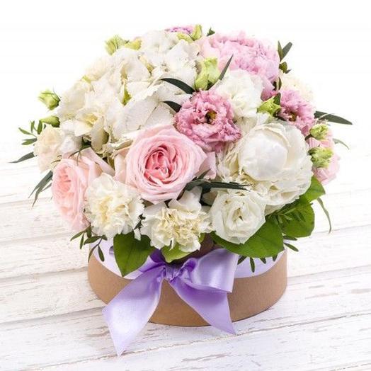 """Цветочная композиция """"Жемчужина"""": букеты цветов на заказ Flowwow"""