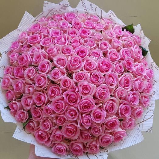 201 роза: букеты цветов на заказ Flowwow