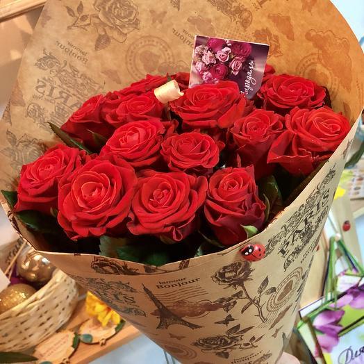 «Я люблю Париж!»: букеты цветов на заказ Flowwow