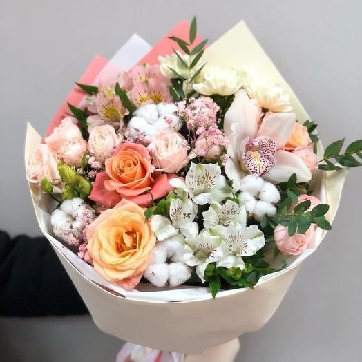 Воздушный☁: букеты цветов на заказ Flowwow