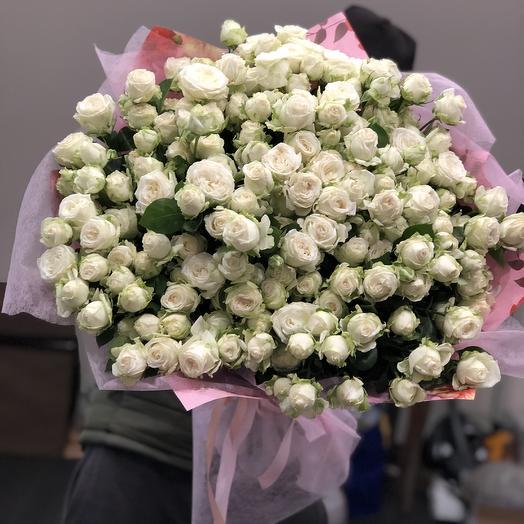 Пионовидная кустовая: букеты цветов на заказ Flowwow