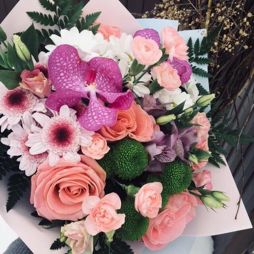 Стереобукет Amsterdam: букеты цветов на заказ Flowwow