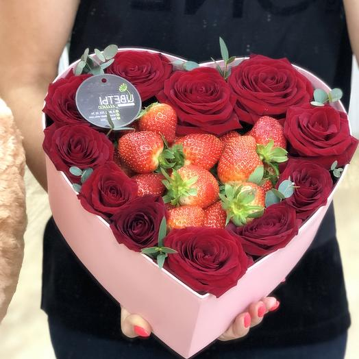 Heart With love: flowers to order Flowwow