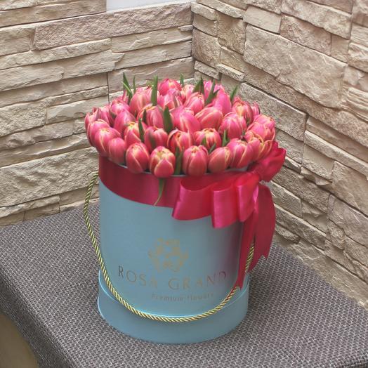 До 49 голландских пионовидных тюльпана: букеты цветов на заказ Flowwow