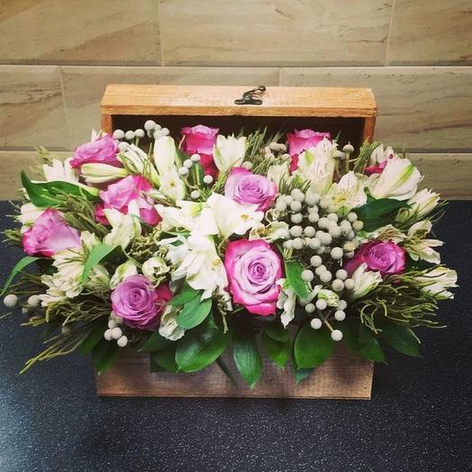 Шкатулка Сокровищ: букеты цветов на заказ Flowwow