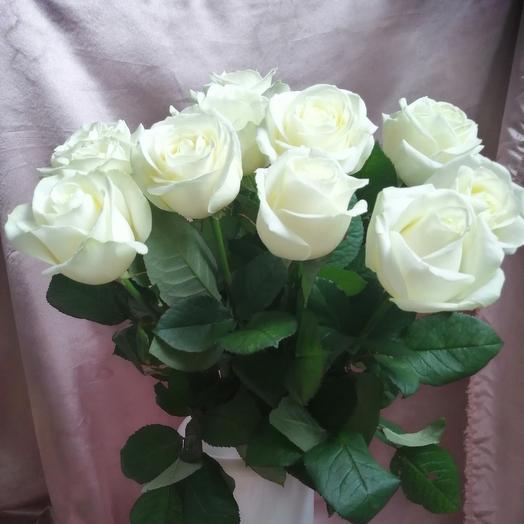 Белоснежный аваланж: букеты цветов на заказ Flowwow
