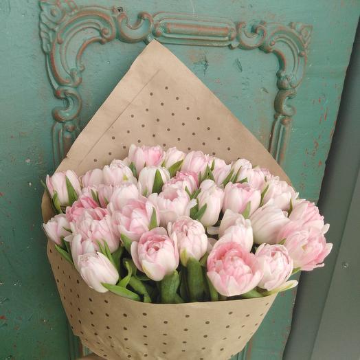 Тюльпановое утро: букеты цветов на заказ Flowwow
