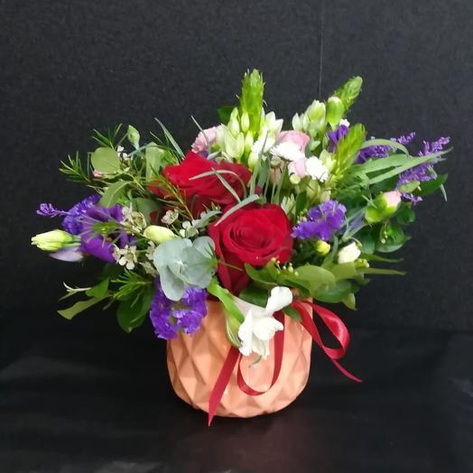 Кашпо Для дома: букеты цветов на заказ Flowwow