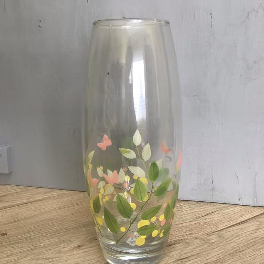 Ваза с рисунком: букеты цветов на заказ Flowwow