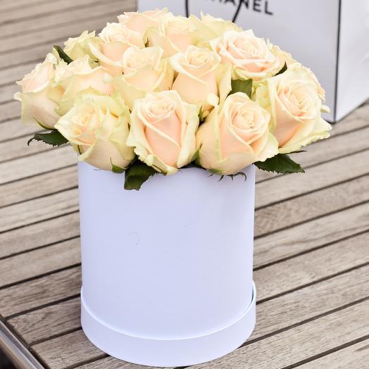 Кремовая радость: букеты цветов на заказ Flowwow