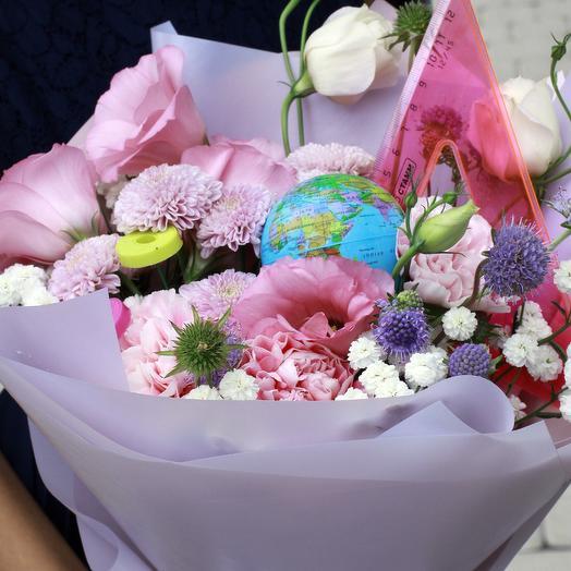 """Букет """"Школьный калейдоскоп"""": букеты цветов на заказ Flowwow"""