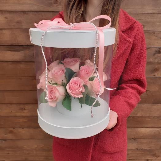 "Коробка ""Легкость "": букеты цветов на заказ Flowwow"