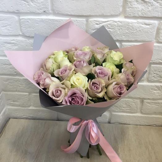 """Букет из роз """"нежность"""""""