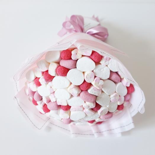 Малиновый десерт: букеты цветов на заказ Flowwow