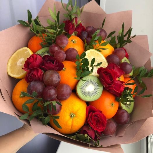 Фруктовый салат: букеты цветов на заказ Flowwow