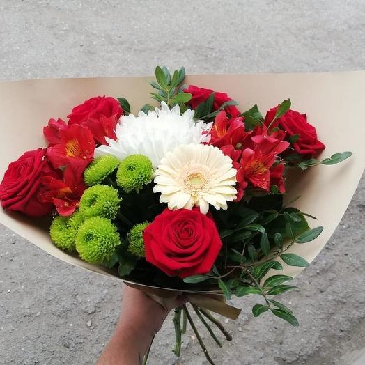 """Букет """"Ягодка"""": букеты цветов на заказ Flowwow"""
