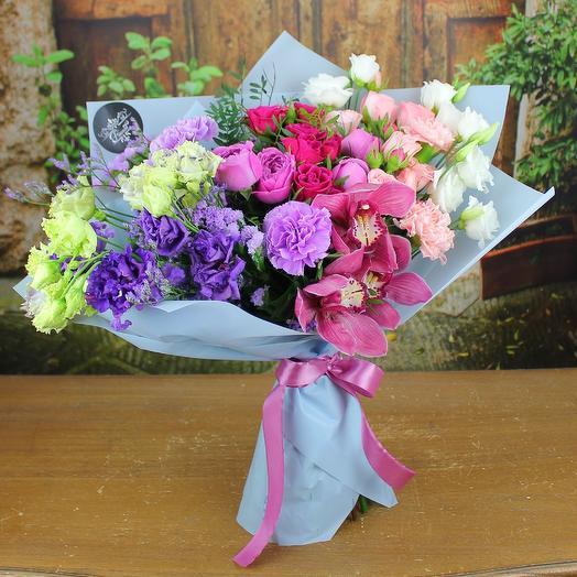 Романс влюбленных: букеты цветов на заказ Flowwow