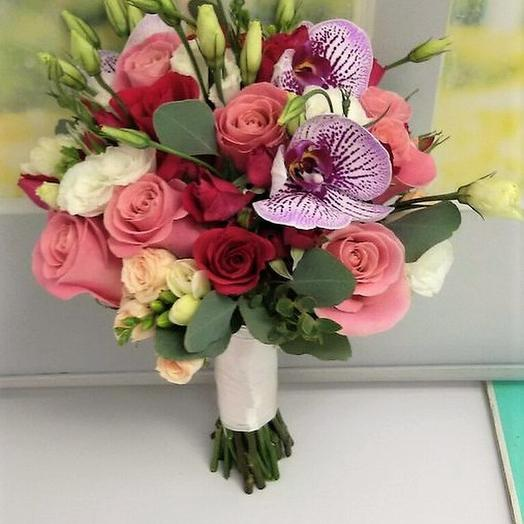 """Свадебный букет """"Чудесный день"""": букеты цветов на заказ Flowwow"""