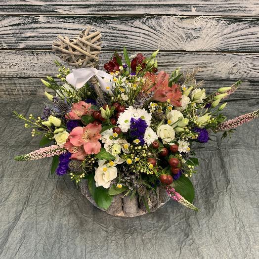 Луговая полянка 🌿: букеты цветов на заказ Flowwow