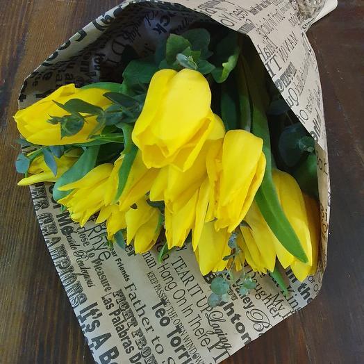 Букет стонг голд 15: букеты цветов на заказ Flowwow
