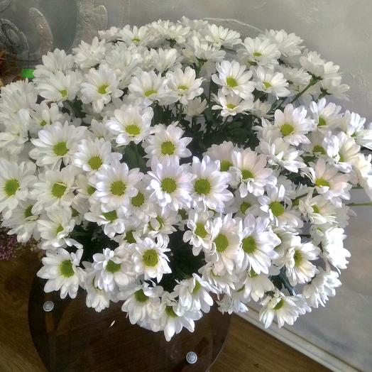 Букет «15 хризантем»