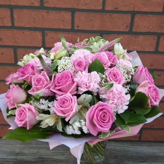 """Букет """"Розовый зефир"""": букеты цветов на заказ Flowwow"""