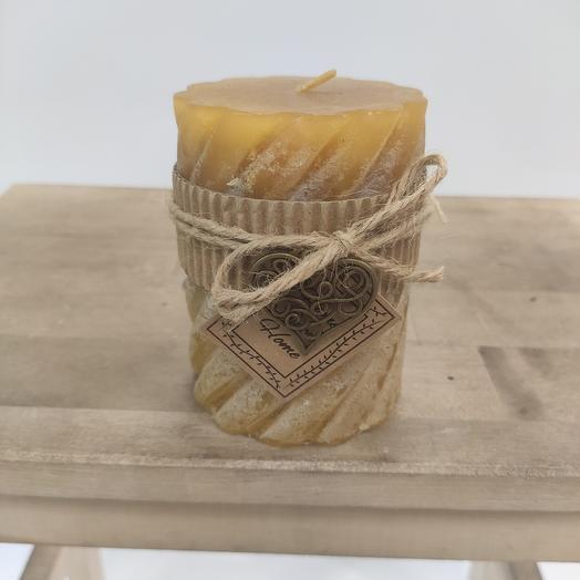 Свечи ручной работы.Изготовленные из экологически чистого сырья они наполнят ваш дом теплом и уютом