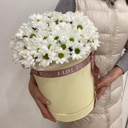Цветы в коробке Для милых мам