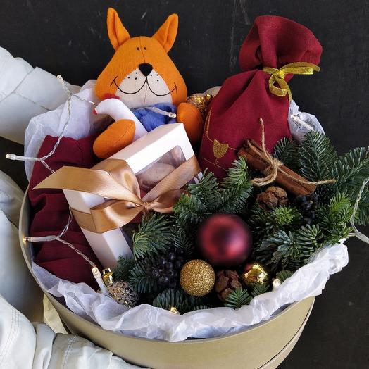 "Подарочная коробка ""Лисичка"""