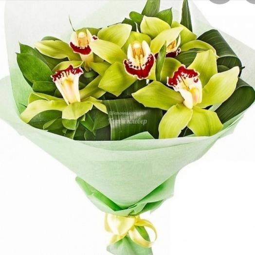 """Букет их орхидей """""""