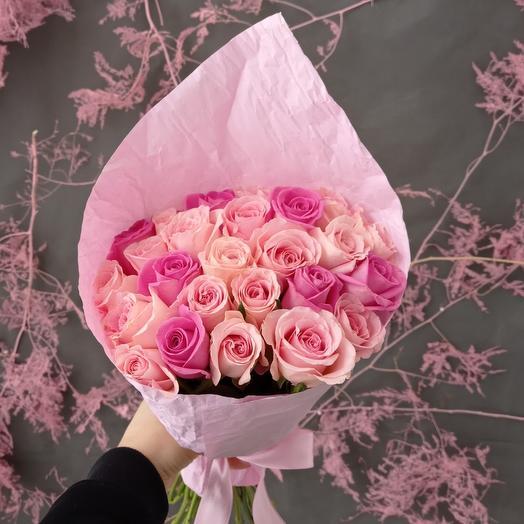 """Букет """"Самые нежные розы """" из 25 роз"""