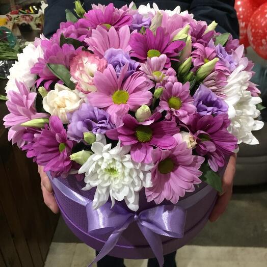Цветы в коробке 06433