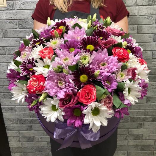Цветы в коробке 06577