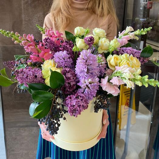 Цветущий сад в коробке