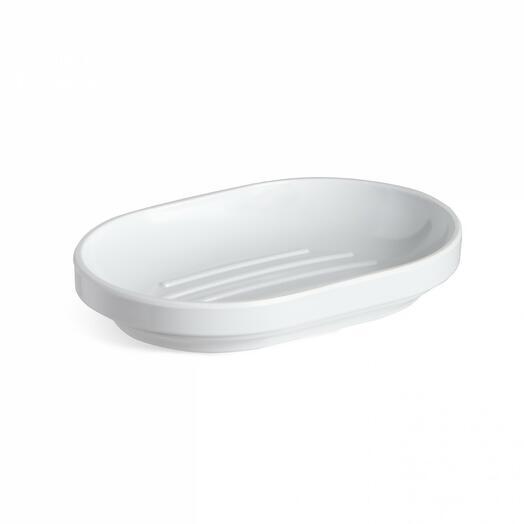 Мыльница step белая  Umbra 023837-660