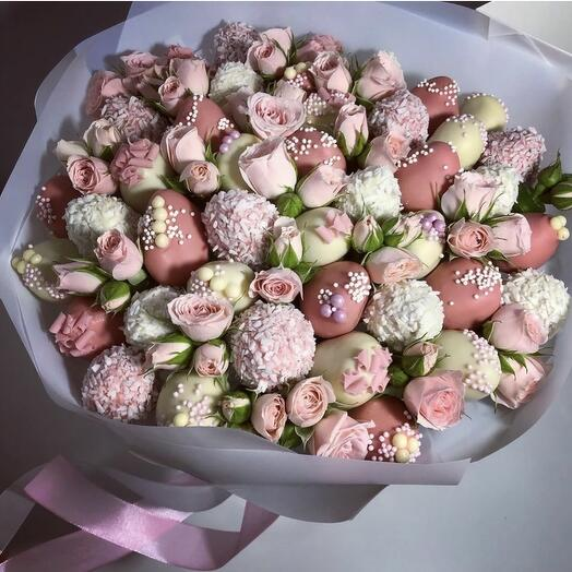 "Bouquet "" CREME BRULEE"""