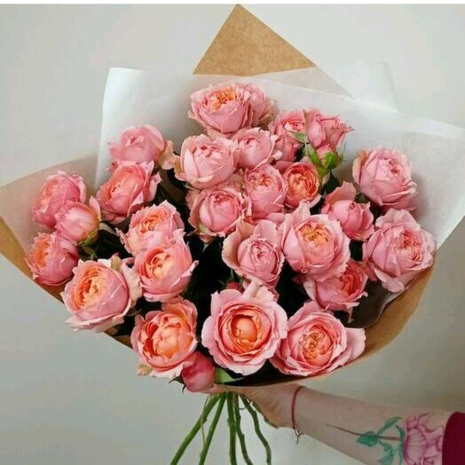 Джульетта кустовые пионовидные розы