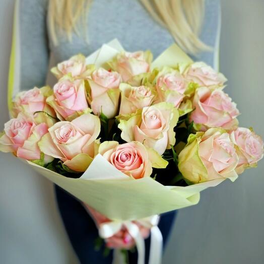 15 нежных роз Голландия