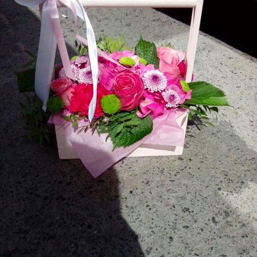 В розовых очках: букеты цветов на заказ Flowwow