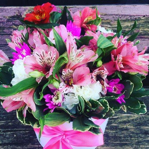 Букет из альстормерий: букеты цветов на заказ Flowwow