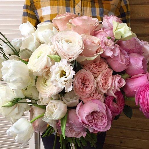 Букет с шикарным составом: букеты цветов на заказ Flowwow